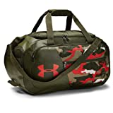 Under Armour Undeniable Duffle 4.0, Summit White/Martian Red, Small (Color: Summit White (110)/Martian Red, Tamaño: One Size Fits All)