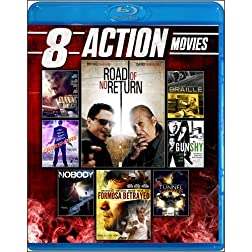 8-Film Action Collection [Blu-ray]