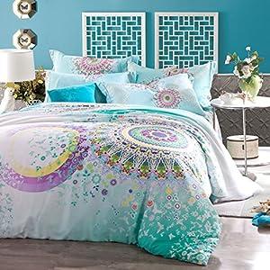 Ropa De Cama Paisley Bedding Colorful Duvet Cover Bedding Set Full
