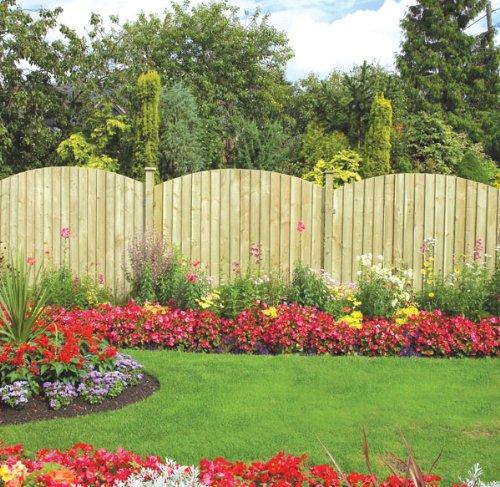 Grange Fencing Ltd Dome Feather Edge Panel