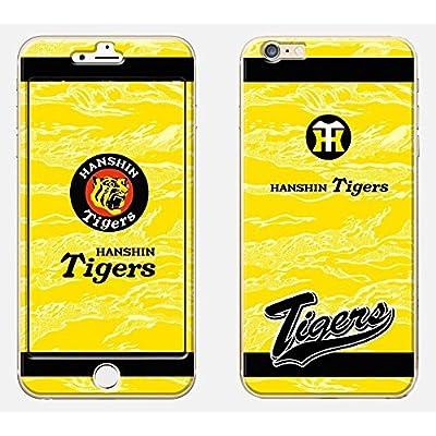 阪神タイガース 公認 iPhone6 プロテクター アイフォン Tigers トラ柄+ロゴ イエロー TGP07_iP6