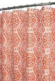 Park B. Smith Venetian Tiles Shower Curtain, Tangerine