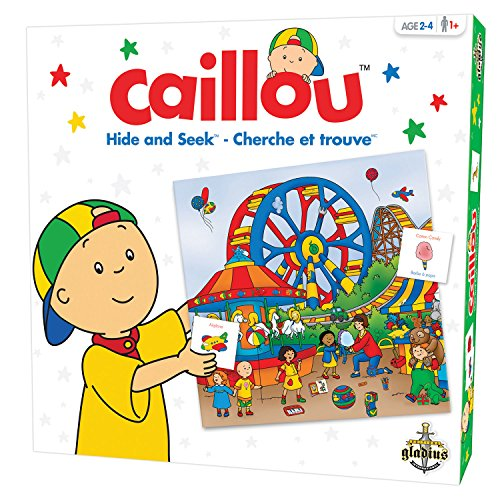 Caillou Hide and Seek Game - 1