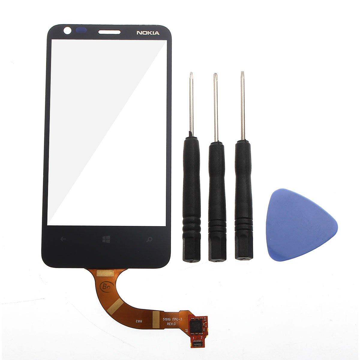 Pantalla Tactil Cristal Negro para Nokia Lumia 620 + tools - Electrónica Revisión del cliente y más noticias