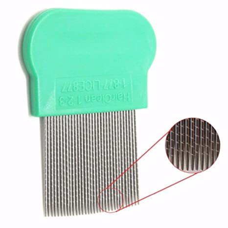 Generic Green : Lice Comb Nit Free Remove Nits stainless steel with micro grooved teeth at amazon
