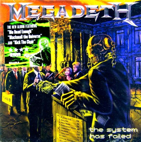 The System Has Failed by Megadeth