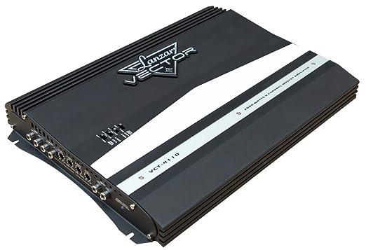 Lanzar Amplificateur MOSFET à 4 canaux 2000 W Noir