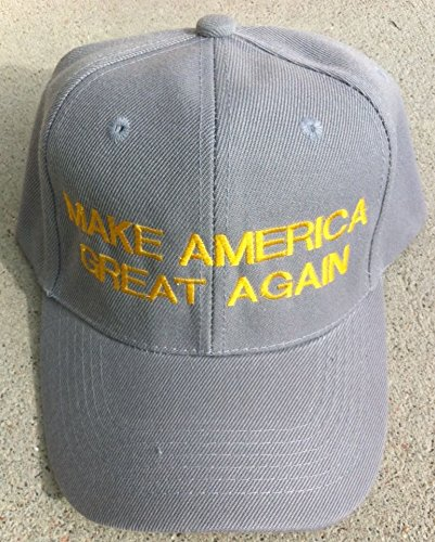 [Republican MAKE AMERICA GREAT AGAIN Gray CAP HAT Donald Trump 2016 EMBROIDERED] (Bellboy Costumes)