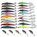 GOTURE Fishing Lure Set Minnow Hard F...
