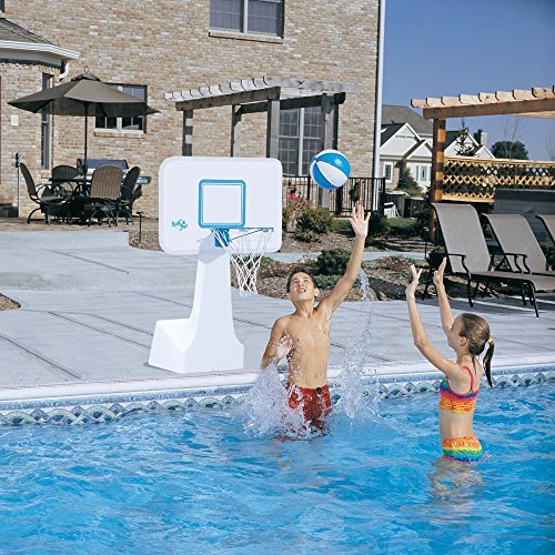 Dunn Rite PoolSport Portable Pool Basketball/Volleyball Set by Dunn Rite