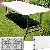 Tisch-klappbar-Kunststoff-wei-74x180-cm-Partytisch-Buffettisch-Klapptisch
