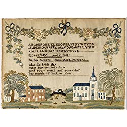 High Quality Polyster Canvas Print ,the Replica Art DecorativeCanvas Prints Of Oil Painting 'Sophia Stevens Smith - Sampler', 12 X 16 Inches / 30 X 41 Cm Is Best For Bathroom Gallery Art And Home Artw