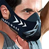 Viane Beauty sports mask Fitness,Workout,Running, Resistance,Elevation,Cardio,Endurance Mask Fitness training sports mask (Color: carbon fiber L, Tamaño: Large)