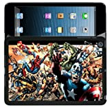 007ipad SPIDERMAN CAPTAIN AMERICA HARD BACK CASE COVER FOR iPAD 2/3/4 DC COMICS MARVEL COMICS - 007ipad