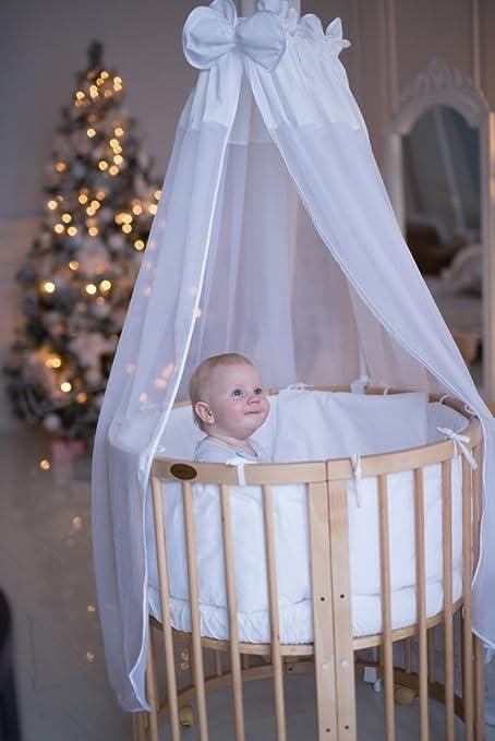 comfortbaby ovales kinderbett babybett 7 in 1 aus buche. Black Bedroom Furniture Sets. Home Design Ideas