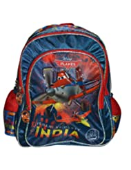 Simba Planes Explorer Backpack, Multi Color (16-inch)