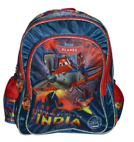 Simba Simba Planes Explorer Backpack, Multi Color (16-Inch) (Multicolor)