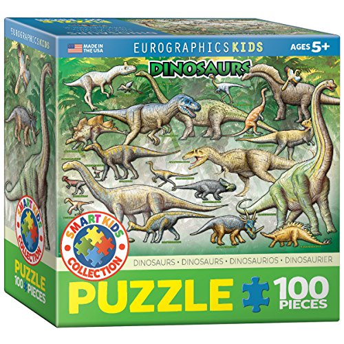 EuroGraphics Dinosaurs Jigsaw Puzzle (100-Piece)