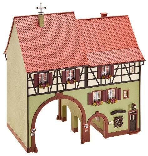 Faller 130499 H0 city house with gate