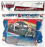 Disney & Pixar CARS HAPPY BIRTHDAY Birthday Party Banner (5.75 Feet Long)