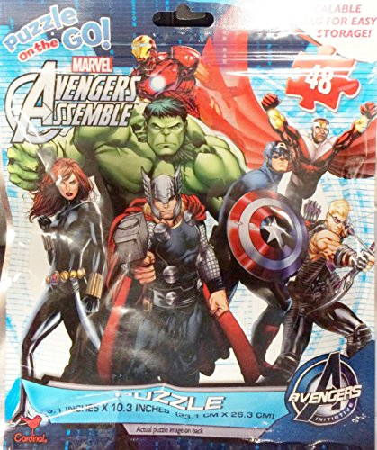 Marvel Avengers Puzzle 48 Pieces
