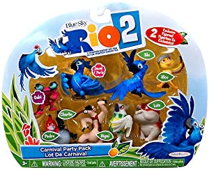 Rio 2 Movie - Carnival Party Pack - Complete Figure Set from Jakks