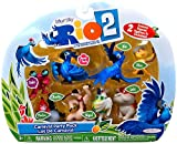Rio 2 Movie Carnival Party Pack Mini Figures Set 8-pack