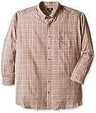 Cutter & Buck Men's Big-Tall Lon Sleeve Revival Plaid Woven Shirt