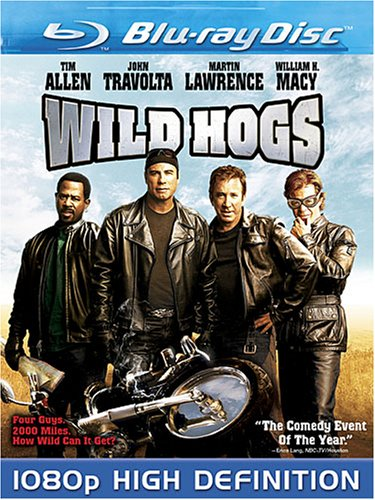Cover art for  Wild Hogs [Blu-ray]