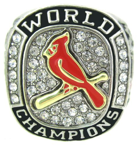 2011 St Louis Cardinals World Series Championship Ring Size 11.5 at Amazon.com