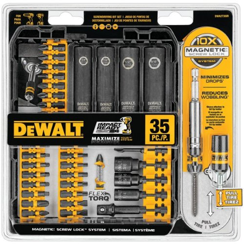 DEWALT DWA2T35IR 35-Piece Impact-Ready Screwdriver Set (Dewalt 35 Piece compare prices)