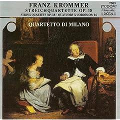 Krommer, F.: String Quartets, Op. 18