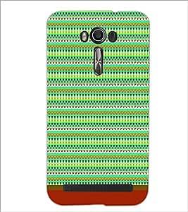 PrintDhaba Tribal Pattern D-1720 Back Case Cover for ASUS ZENFONE 2 LASER ZE550KL (Multi-Coloured)