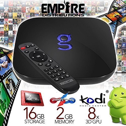 *Fully Programmed* Matricom G-Box Q Android Tv Streaming Media Mini Pc [2Gb/16Gb/4K] Quad/Octo Core *Plug-N-Play*