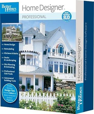 Better Homes and Gardens Home Designer Pro 8.0  [OLD VERSION]