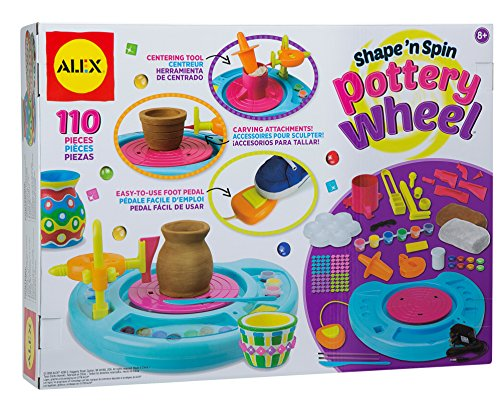 Alex Deluxe Pottery Wheel with AC Adapter (Alex Dough Tools compare prices)