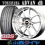 【18インチ】ヨコハマ ADVAN db 225/45R18 BBS RF DSK サマータイヤホイール 4本セット アドバン デシベル 【国産車】