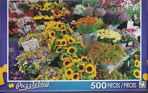 Puzzlebug 500 ~ Flower Stall, Bavaria, Germany