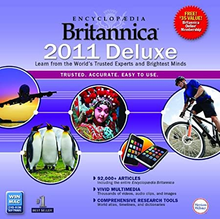 Encyclopedia Britannica Deluxe 2011