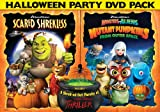 61uDYiv6nLL. SL160  DreamWorks Halloween Double Pack (Scared Shrekless / Monsters vs Aliens: Mutant Pumpkins From Outer Space)
