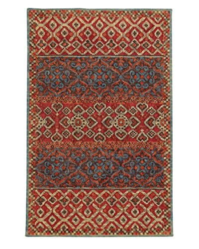 Tommy Bahama Jamison Rug  [Red/Blue]