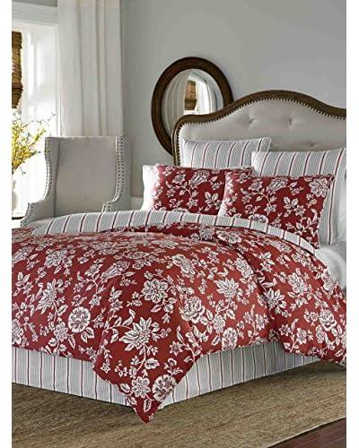 Stone Cottage Ceylon Red Comforter Set