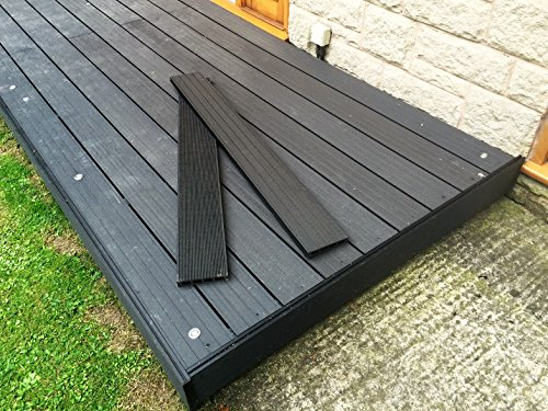 terrassendiele 1 quadratmeter kunststoff terrassendielen wood plastic composite garten deck. Black Bedroom Furniture Sets. Home Design Ideas