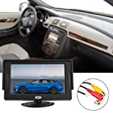 ePathChina® 4.3 Inch TFT-LCD Car Rearview Monitor with Pocket-sized Color LCD Display Monitor for Car / Automobile