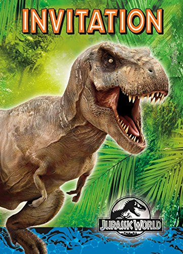 Best Review Of Jurassic World Party Invitations, 8ct