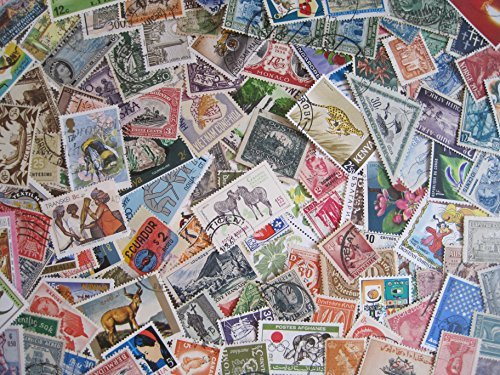 1000-Used-Worldwide-Postage-Stamps-Off-paper-Stamp-International-Stamp-Collecting