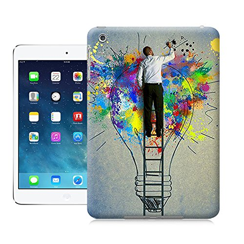 Good Quality Hard Plastic iPhone Mini case, Ruyue Shop-Light Bulb Graffiti-iPad Mini case