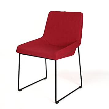 Moderner esszimmerstuhl lyric rot ma e 80x56x47 cm aus Moderner esszimmerstuhl
