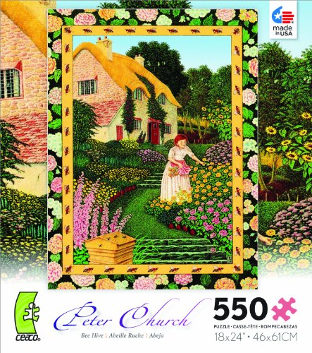 Peter Church Bee Hive Jigsaw Puzzle
