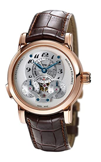 New Mens Montblanc Nicolas Rieussec 190th Anniversary Limited Edition Chronograph Watch 106486